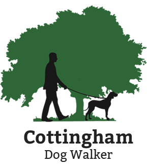 Cottingham Dog Walker Logo